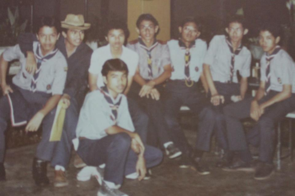 scout 1984 unggun api