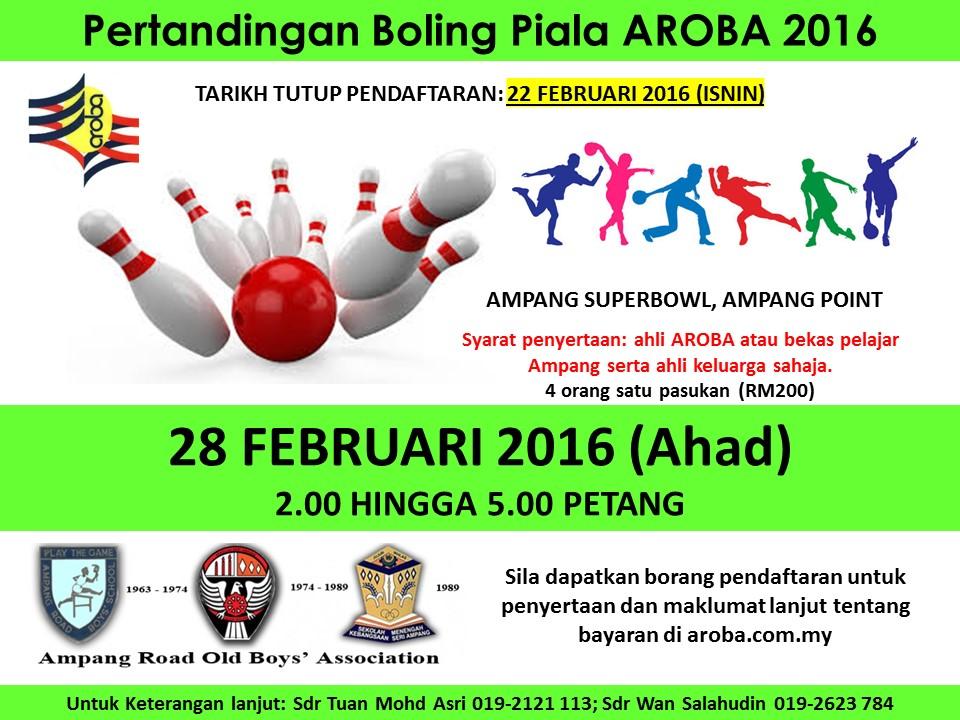 bowling ampang 2016