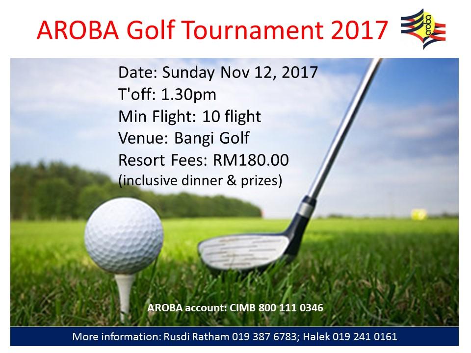 golf aroba 2017